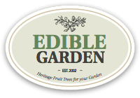 Edible Garden Fruit Trees Mail Order NZ logo